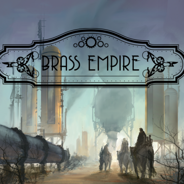 Brass Empire: A Steampunk Deck Building Card Game
