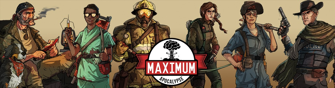 Maximum Apocalypse is live on Kickstarter!